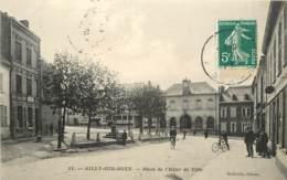 AILLY SUR NOYE PLACE DE L'HOTEL DE VILLE - Ailly Sur Noye