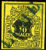 Hannover. Michel #5. Used. LILIENTHAL. - Hanover