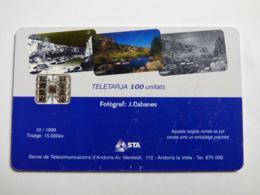 """ANDORRE 109 """"Torrent"""" 10/99 - SC7 - état Courant - Andorra"""