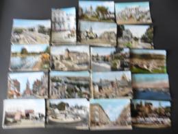 LOT   DE 2170   CARTES  POSTALES   DENTELEES    DE   FARNCE - Cartes Postales