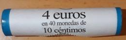 ESPAÑA 2016. CARTUCHO DE 10 CÉNTIMOS - 40 MONEDAS DE 0.10. - España