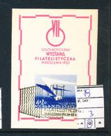 POLAND YVERT BL 19 USED - Blocks & Sheetlets & Panes