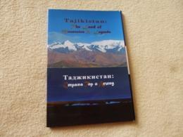 LOT DE 8 CARTES ET DEPLIANT ... DU TAJIKISTAN ...SWISS COOPERATION OFFICE - Tadjikistan