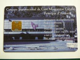 """ANDORRE 123 """"Montserrat Caballé"""" 05/01 - OB - TBE - Andorra"""