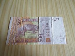 Mali.Billet 500 Francs 2012. - Mali