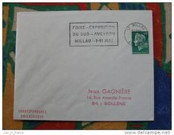 Flamme Millau Foire Expo 1969 - Dpt 12 Aveyron - Flamme Sur Lettre Postmark On Cover - Marcophilie (Lettres)