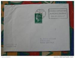 Flamme Millau Bourse Minéraux 1974 - Dpt 12 Aveyron - Flamme Sur Lettre Postmark On Cover - Marcophilie (Lettres)