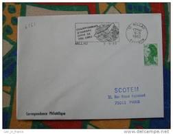 Flamme Millau Championnats Vol Libre 1982 - Dpt 12 Aveyron - Flamme Sur Lettre Postmark On Cover - Marcophilie (Lettres)