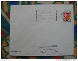 Flamme Evreux Foire Occasions Agricoles 1965 - Dpt 27 Eure - Flamme Sur Lettre Postmark On Cover - Marcophilie (Lettres)