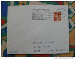 Flamme Dreux Chapelle Royale - Dpt 28 Eure Et Loir - Flamme Sur Lettre Postmark On Cover - Marcophilie (Lettres)