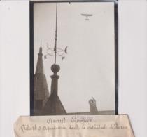 CIRCUIT EUROPÉEN VIDART SUR  DEPERDUSSIN CATHÉDRALE  DE MEAUX  18*13CM Maurice-Louis BRANGER PARÍS (1874-1950) - Aviación