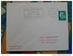 Flamme Mérignac Expo Confort Ménager 1969 - Dpt 33 Gironde - Flamme Sur Lettre Postmark On Cover - Oblitérations Mécaniques (flammes)