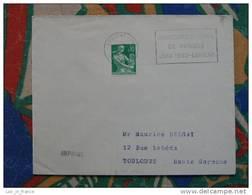 Flamme Lorient Concours Musique 1962 - Dpt 56 Morbihan - Flamme Sur Lettre Postmark On Cover - Marcophilie (Lettres)