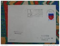 Flamme Compiègne Quinzaine Commerciale 1968 - Dpt 60 Oise - Flamme Sur Lettre Postmark On Cover - Marcophilie (Lettres)