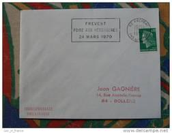 Flamme Frevent Foire Aux Herbageres 1970 - Dpt 62 Pas De Calais - Flamme Sur Lettre Postmark On Cover - Oblitérations Mécaniques (flammes)