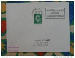 Flamme Montceau Les Mines Quinzaine Commerciale 1971 - Dpt 71 Saone Et Loire - Flamme Sur Lettre Postmark On Cover - Storia Postale