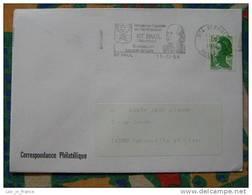 Flamme Saint Paul Berceau De Leconte De Lisle - Dpt 974 Réunion - Flamme Sur Lettre Postmark On Cover - Oblitérations Mécaniques (flammes)