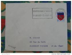 Flamme Avignon RP Festival 1968 - Dpt 84 Vaucluse - Flamme Sur Lettre Postmark On Cover - Marcophilie (Lettres)