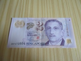 Singapour.Billet 2 Dollars. - Singapore