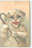 N°13274 - Maurice Boulanger - Chat Avec Une Canne - Künstlerkarten