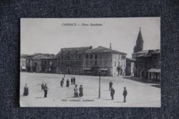 CARMAUX - Place Gambetta - Carmaux