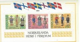 FAROE ISLANDS, 1983, Block 1, Costumes - Féroé (Iles)