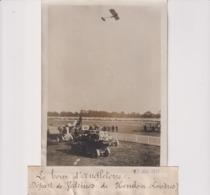 TOUR D'ANGLETERRE DÉPART DE VÉDRINES DE HENDON LONDRES   18*13CM Maurice-Louis BRANGER PARÍS (1874-1950) - Aviación