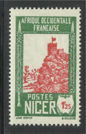 NIGER 1933 YT 46A** SANS CHARNIERE NI TRACE - Nuovi