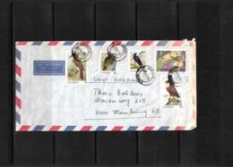Zambia 1989 Interesting Airmail Letter - Zambia (1965-...)