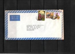 Zambia 1984 Interesting Airmail Letter - Zambia (1965-...)