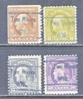 U.S. 503 +   Perf. 11   (o)  WIS.    1917-19  Issue - United States