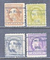 U.S. 503 +   Perf. 11   (o)  WIS.    1917-19  Issue - Precancels