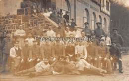 CARTE PHOTO ALLEMANDE  DAHLERBRÜCK 1916 LEDIGENHEIM  (RESERVE-LAZARETT) - Allemagne