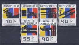 190032033  VENEZUELA  YVERT   Nº   998/1003  */MH - Venezuela