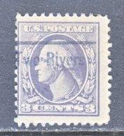 U.S. 530   Perf. 11   Type IV  (o)  WIS.    1918-20  Issue - Precancels