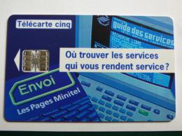 """Télécarte 5 Unités GN 31 """"Envoi- MGS"""" 05/94 - SC7 - TBE - Frankrijk"""