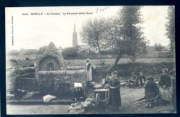 Cpa Du  29 Moelan Le Clocher , La Fontaine Saint Roch    LZ46 - Moëlan-sur-Mer