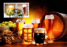 Maximumkarte 2019 Bierbraukunst / The Art Of Brewing Beer / Art De La Brasserie / L'arte Della Birrificazione - Maximumkaarten