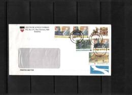 Bophuthatswana + Transkei + South Africa 2003 Interesting Airmail Letter With Mixed Postage - Bophuthatswana
