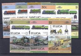 190032038  SAINT  LUCIA  YVERT   Nº   598/613  **/MNH - St.Lucia (1979-...)
