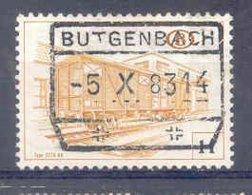 A377 -België  Spoorweg Chemin De Fer Met Stempel  BUTGENBACH - Chemins De Fer