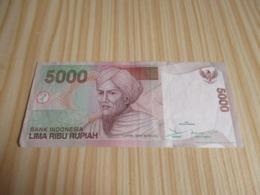 Indonésie.Billet 5000 Rupiah 2001. - Indonesien