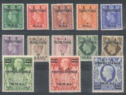 1950 - ** (catalogo N.° 14/26) (3842) - Catalogo 175,00 - Tripolitaine