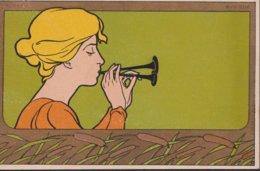 ILLUSTRATEUR PORTRAIT DE FEMME - Cartes Postales