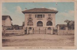 CPA Morcenx - Villa St-Jours Fils - Boulevard Galliéni - Morcenx