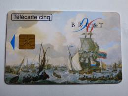 """Télécarte 5 Unités GN238 """"Brest Marine Nationale""""06/96 - GEM1B - TBE - Côtée 22€ - Frankrijk"""