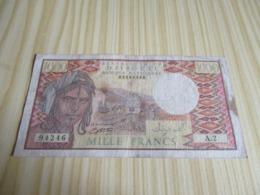 Djibouti.Billet 1000 Francs. - Gibuti