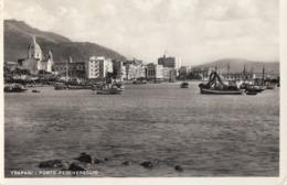TRAPANI-PORTO PESCHERECCIO-CARTOLINA VERA FOTOGRAFIA VIAGGIATA IL 18-7-1960 - Trapani