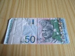 Malaysie.Billet 50 Ringgit. - Malaysie