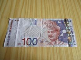 Malaysie.Billet 100 Ringgit. - Malaysie